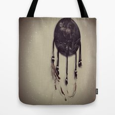 Wolf Dreamcatcher Tote Bag