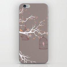 Irony of Birds iPhone & iPod Skin