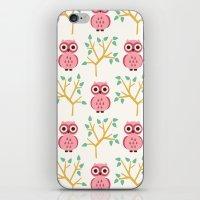 Owl Grove iPhone & iPod Skin