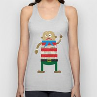 The Shipmate often seen on a Pirate ship Unisex Tank Top