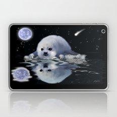 Destiny - Harp Seal Pup & Ice Floe Laptop & iPad Skin