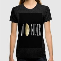 Wonder Womens Fitted Tee Tri-Black SMALL
