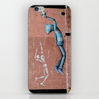 The Floating Man iPhone & iPod Skin