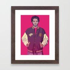 80/90s ERA - R.Srk Framed Art Print
