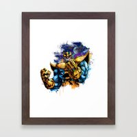 Thanos Framed Art Print