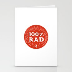 100% Rad Stationery Cards