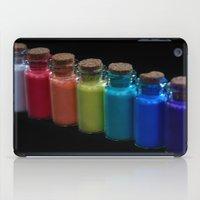 Powder Paint Pigments iPad Case