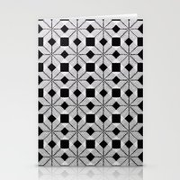 Silver Snow Stationery Cards