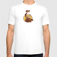 Plasterer Worker Tradesm… Mens Fitted Tee White SMALL