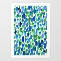 Clean Rain Art Print