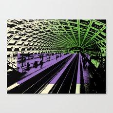 Washington DC Metro Canvas Print