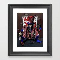 Uncle Sammy Framed Art Print