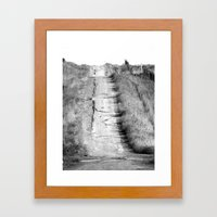 The Thorn Triangle - Road to the heights Framed Art Print