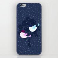 Winter Love iPhone & iPod Skin