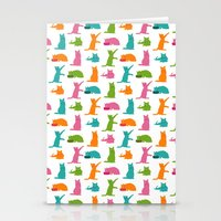 Cats Multicolor Stationery Cards