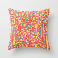 Disease 11. Hand Drawing… Throw Pillow