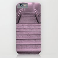 iPhone & iPod Case featuring Tube Stairs by Gal Raz
