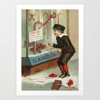 Wanted - A Boy To Lick C… Art Print