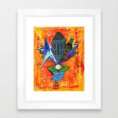 SECRET GEM Framed Art Print