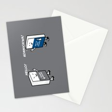 Say Hello Stationery Cards