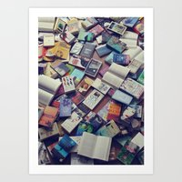 Book Mania! (1) Art Print