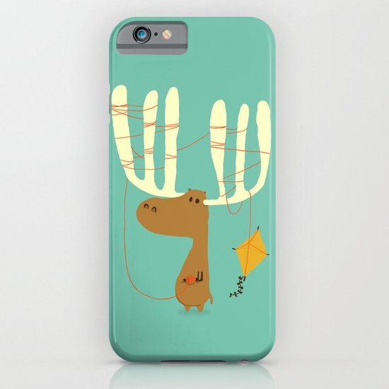 A moose ing iPhone & iPod Case