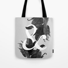 Botanical Ampersand Tote Bag