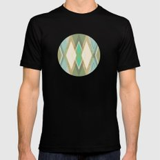 MCM Argyle Mens Fitted Tee Black SMALL