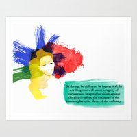 Be Daring Art Print