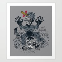 Odysseus And The Cyclops Art Print