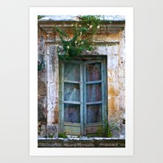 Abandoned Sicilian House in Noto Art Print