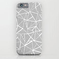 Abstraction Linear Inverted Slim Case iPhone 6s