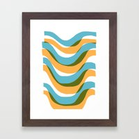 Wave - Palm Springs Circa 1967 Framed Art Print
