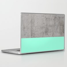Sea on Concrete Laptop & iPad Skin