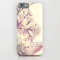 iPhone & iPod Case featuring Appointed Bloom by QianaNicole PhotoARTography
