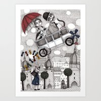 Going on Holiday Art Print
