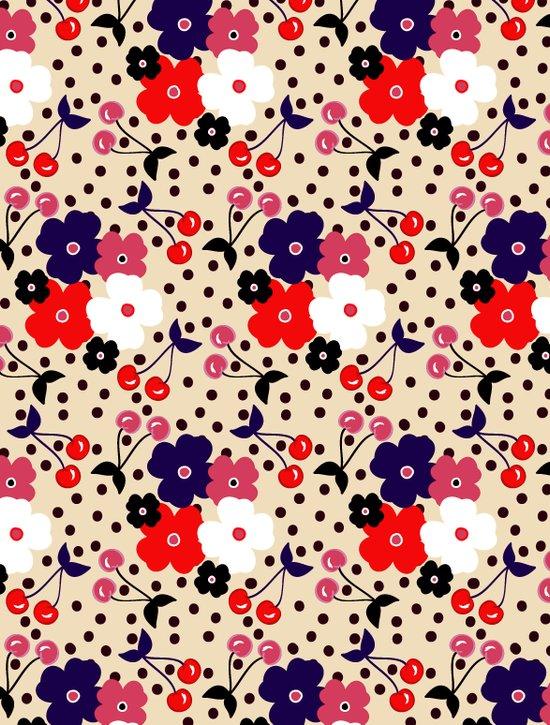 Cream Cherry Art Print