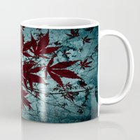 Autumn Red Mug