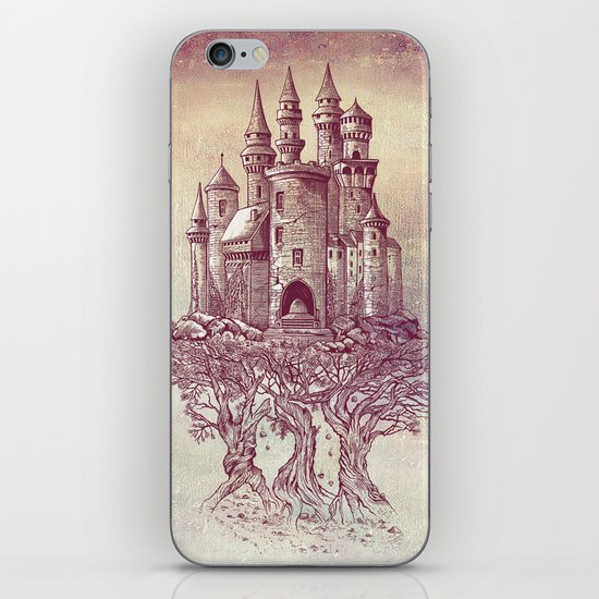 Castle in the Trees iPhone & iPod Skin