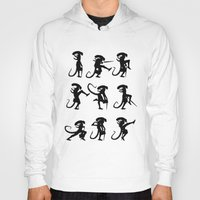 Hoody featuring Ministry of Alien Silly Walks by 6amcrisis