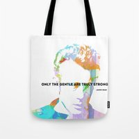 James Dean Quote Tote Bag