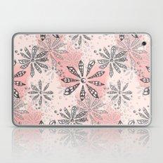 Spiral Flowers Pattern Laptop & iPad Skin