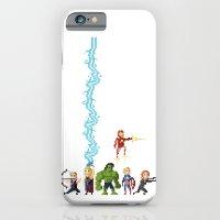 Avenging Pixels iPhone 6 Slim Case