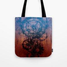 Steampunk clock Tote Bag
