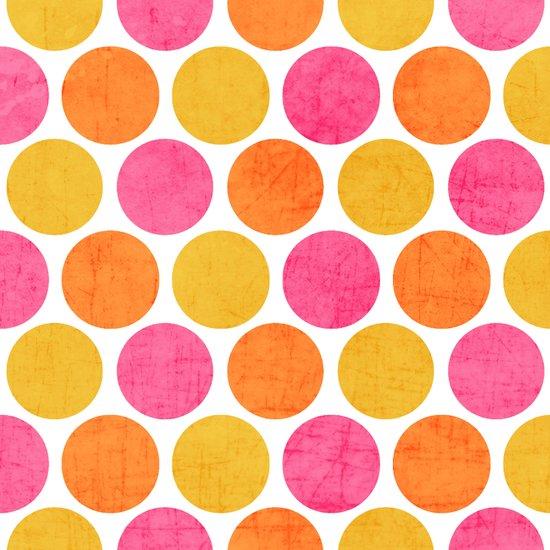 summer polka dots Canvas Print