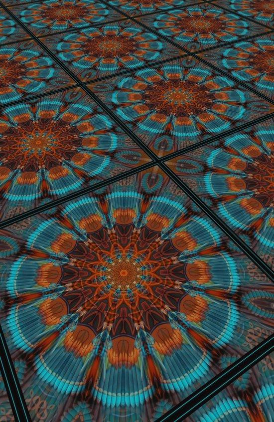 Monday Kaleidoscope Art Print