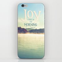 Joy Comes In The Morning iPhone & iPod Skin