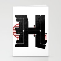 The Letter H Stationery Cards