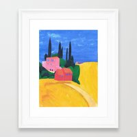 Corfu, A Homage To My Fa… Framed Art Print