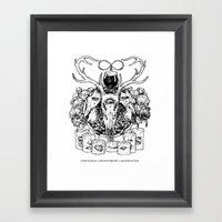 Puritanical Misanthropic… Framed Art Print